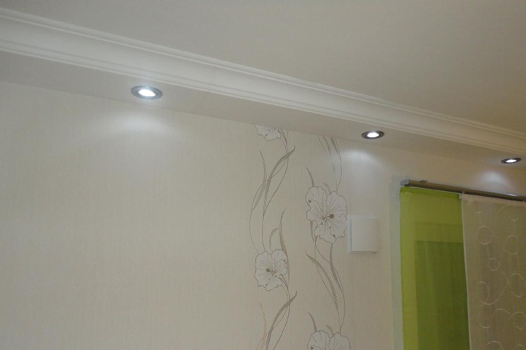 Direkte Beleuchtung der Wand mit den Decken-Profil BSKL-290A-PR