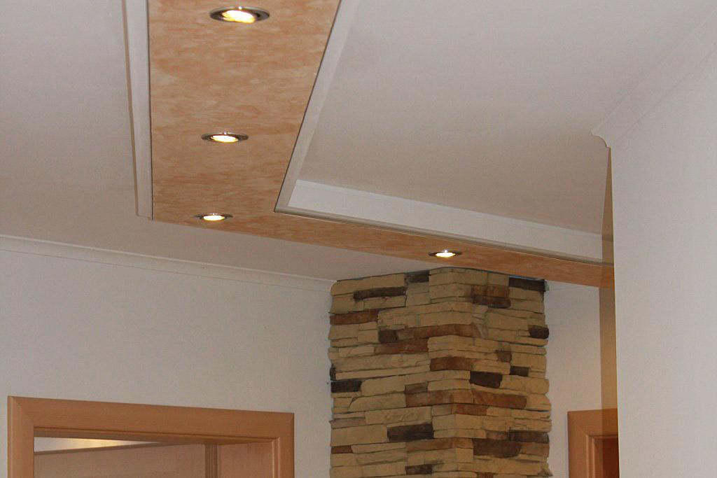 Moderne Deckenbalken BSML-380B-PR für die direkte Beleuchtung im Flur