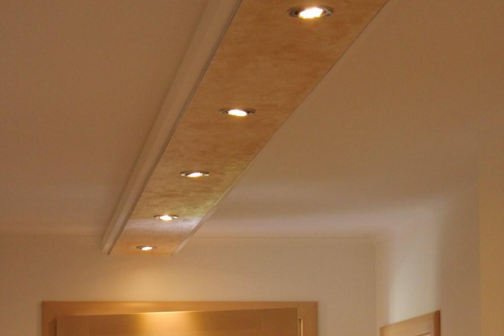 Deckenprofil BSML-380B-PR für den Einbau von LED Strahler