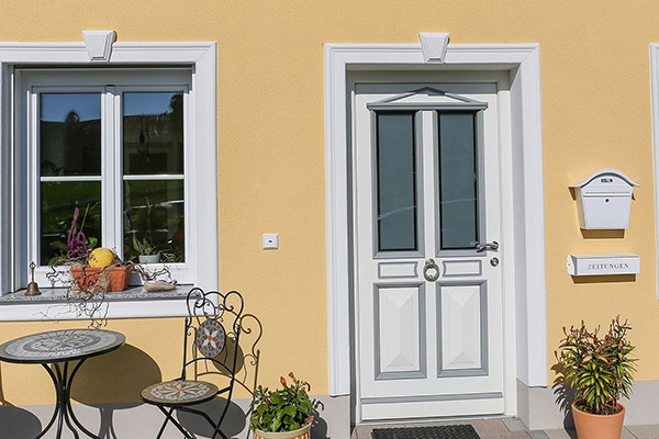 Fassadengestaltung mit Fassadenprofilen
